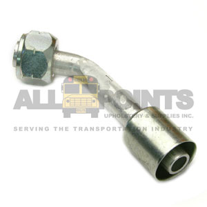 METRIC FITTING 45 DEGREE M27 Bus Part - All Points Bus