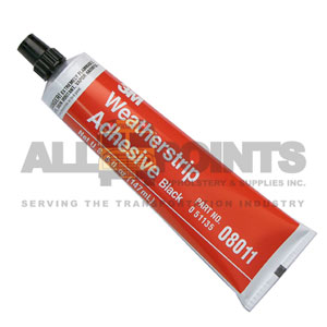 WEATHER STRIP ADHESIVE, 11 OZ.