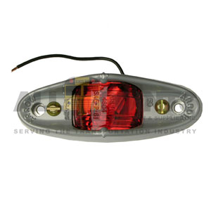 ARMORED MARKER LAMP RED