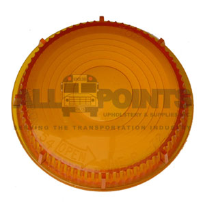 AMBER MARKER LIGHT LENS
