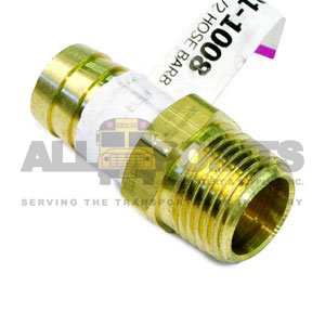 "5/8"" HOSE BARB TO 1/2"" PIPE NIPPLE"