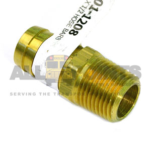 "3/4"" HOSE BARB TO 1/2"" PIPE NIPPLE"