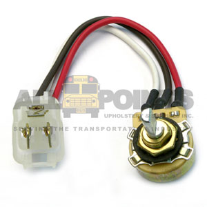 DEFROSTER/FLOOR AIR CONTROL SWITCH ASSEMBLY