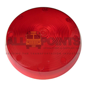 RED STOP LIGHT LENS