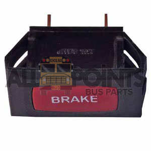 "RED ""BRAKE"" LIGHT - GLAVAL"