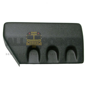 MIDBUS REAR BUMPER CAP, RIGHT