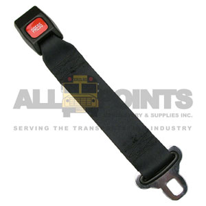 "24"" SEAT BELT EXTENSION, BLACK"