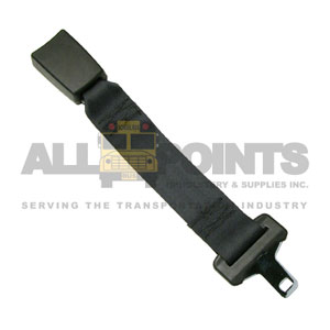 "12"" SEAT BELT EXTENSION, BLACK"