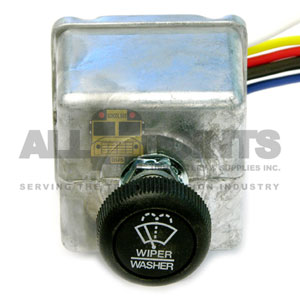 UNIVERSAL WIPER SWITCH, 6 WIRE