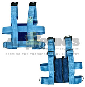 "EZ ON VEST, EXTRA SMALL, 19-24"" WITH CROTCH STRAP"