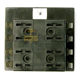 8 POSITION FUSE BLOCK, COMMON FEED