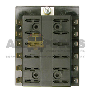 12 POSITION FUSE BLOCK, COMMON FEED