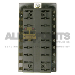 18 POSITION FUSE BLOCK, COMMON FEED