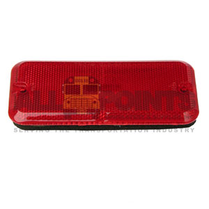 GM VAN SIDE MARKER; RED