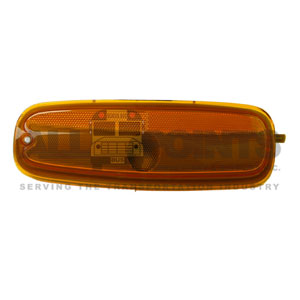 GM VAN LEFT MARKER LIGHT, AMBER