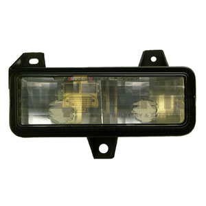 GM VAN LEFT PARK LIGHT ASSEMBLY, CLEAR
