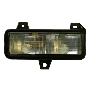 GM VAN RIGHT PARK LIGHT ASSEMBLY, CLEAR