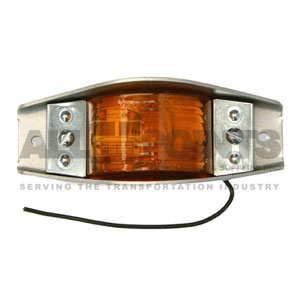 AMBER ARMORED MARKER LIGHT
