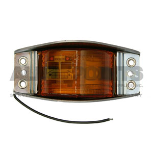 AMBER NARROW RAIL CLEARANCE MARKER LIGHT