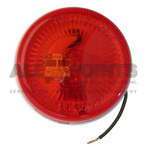 "RED MARKER LIGHT 2.5"" ROUND"