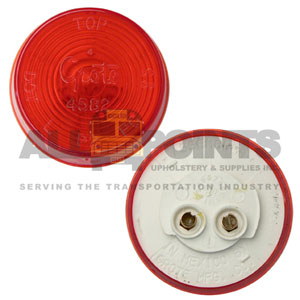 ROUND SEALED MARKER LIGHT, RED