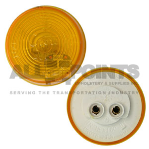 ROUND SEALED MARKER LIGHT, AMBER