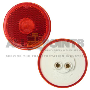 "2.5"" 10 SERIES REFLECTIVE MARKER, RED"