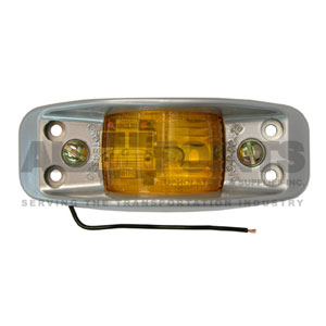 AMBER CLEARANCE MARKER LIGHT