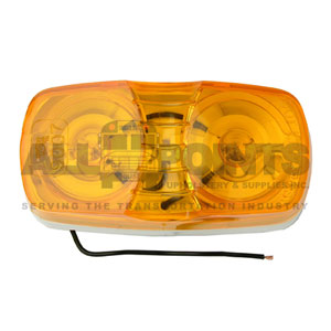 AMBER CLEAR MARKER LIGHT