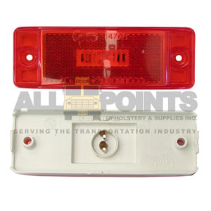 TURTLE BACK LED, RED
