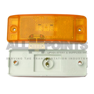 TURTLE BACK LED, AMBER
