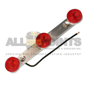 RED 3 LIGHT ASSEMBLY, ROUND