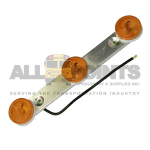 AMBER 3 LIGHT ASSEMBLY, ROUND