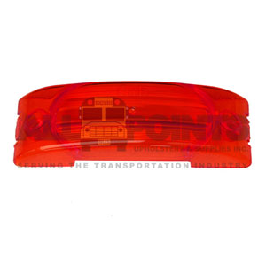 TURTLE BACK MARKER LENS - RED