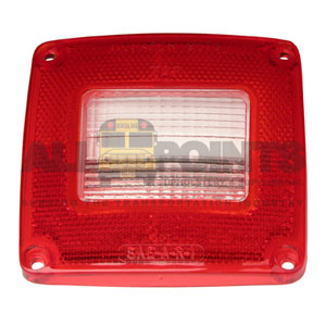 MONARCH LENS, RED/CLR BACKUP