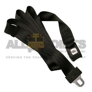 "110"" CONTINUOUS BELT, BLACK"