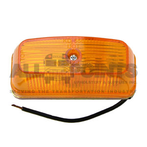 AMBER CLEARANCE MARKER ASSEMBLY