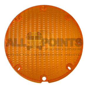 TAILLIGHT LENS - AMBER, ROUGH