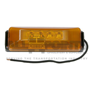 AMBER CLEARANCE LIGHT, LED
