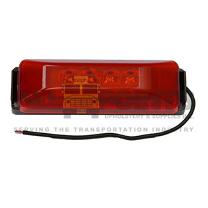RED CLEARANCE LIGHT, LED