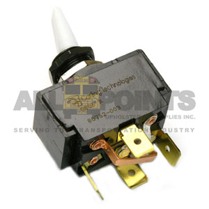 TOGGLE WIPER SWITCH, 4 BLADE WITH JUMPER