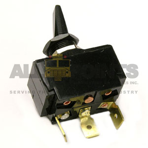 TOGGLE HEATER SWITCH, 3 BLADE, OFF/ON/ON