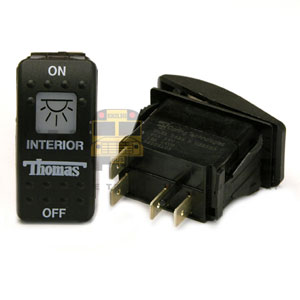 THOMAS ROCKER INTERIOR SWITCH, 6 BLADE