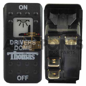 THOMAS ROCKER DRIVERS DOME SWITCH, 6 BLADE