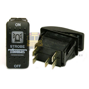 THOMAS ROCKER STROBE SWITCH, 5 BLADE