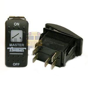 THOMAS ROCKER MASTER SWITCH, 5 BLADE