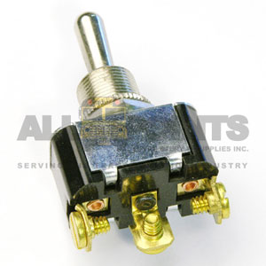 MOMENTARY TOGGLE SWITCH, 3 BLADE, SPDT