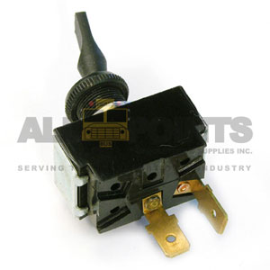 MOMENTARY ON TOGGLE SWITCH, 2 BLADE