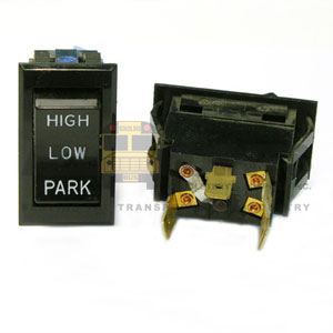 WIPER SWITCH, 4 BLADE, HI/LOW/PARK