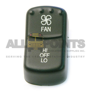 BLUE BIRD-STYLE ROCKER FAN SWITCH COVER